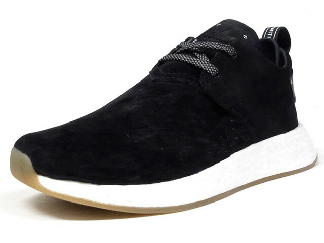"adidas NMD C2 ""BLACK SUEDE"" ""LIMITED EDITION""  BLK/WHT/GUM (BY3011)"