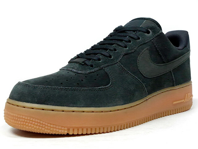 "NIKE AIR FORCE 1 07 LV8 SUEDE ""LIMITED EDITION for ICONS""  D.GRN/GUM (AA1117-300)AA1117-300"