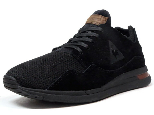 """le coq sportif LCS R PURE SUEDE/MESH """"LIMITED EDITION for BETTER +""""  BLK/BRN (1720236)"""