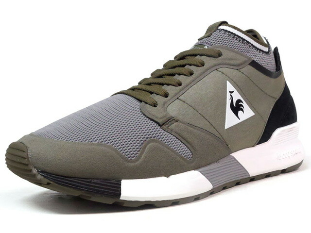 "le coq sportif OMICRON TECHLITE ""LIMITED EDITION for BETTER +""  OLV/GRY/BLK (1721993)"
