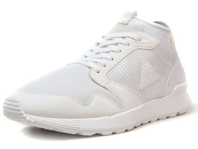 """le coq sportif OMICRON TRIPLE REFLECTIVE """"LIMITED EDITION for BETTER +""""  WHT/WHT (1721995)"""