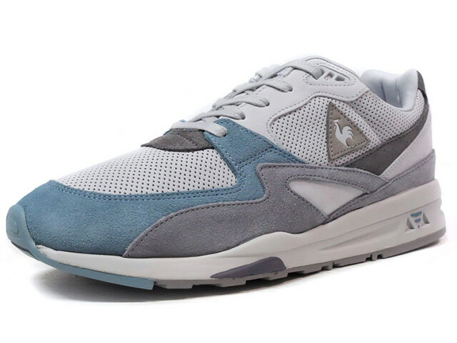 """le coq sportif LCS R 800 VALLEE BLANCHE """"made in FRANCE"""" """"VALLEE BLANCHE PACK"""" """"LIMITED EDITION for Le CLUB""""  L.GRY/GRY/L.BLU (1720305)"""