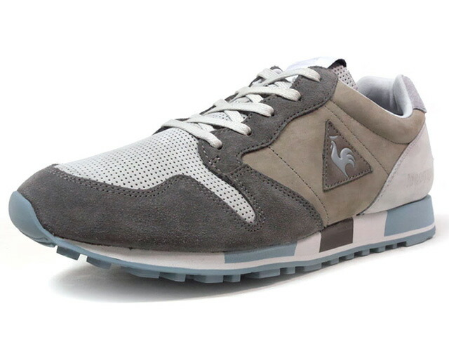 """le coq sportif OMEGA VALLEE BLANCHE """"made in FRANCE"""" """"VALLEE BLANCHE PACK"""" """"LIMITED EDITION for Le CLUB""""  L.GRY/GRY/L.BLU (1720306)"""