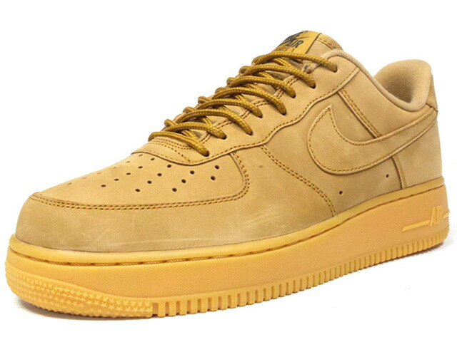 "NIKE AIR FORCE 1 07 WB ""WHEAT"" ""LIMITED EDITION for ICONS""  WHEAT/GUM (AA4061-200)"