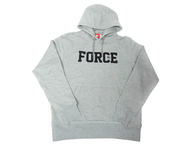 "NIKE AS M NK AF 35TH HOODIE ""AIR FORCE 1 35th ANNIVERSARY"" ""LIMITED EDITION for NONFUTURE""  GRY/BLK (AQ7943-063)"