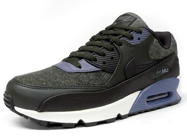"NIKE AIR MAX 90 PREMIUM ""WOOL"" ""LIMITED EDITION for ICONS""  D.GRN/BRN/C.GRY/NAT (700155-300)"