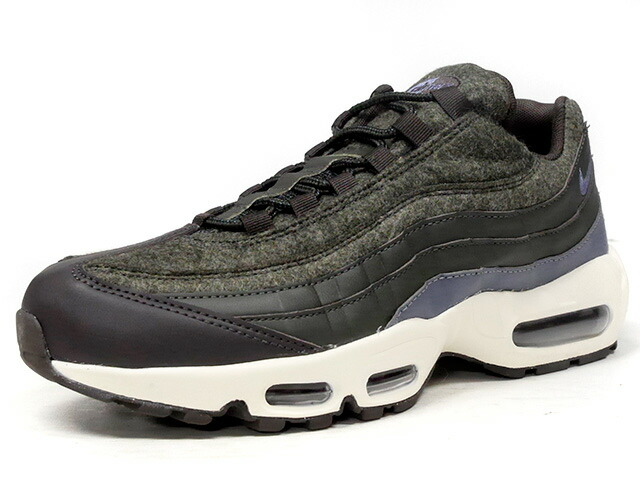 "NIKE AIR MAX 95 PRM ""WOOL"" ""LIMITED EDITION for ICONS""  D.GRN/BRN/C.GRY/NAT (538416-300)"
