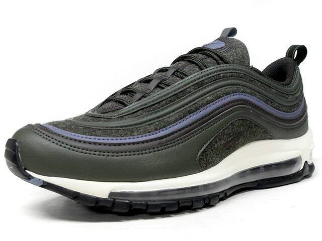 "NIKE AIR MAX 97 PREMIUM ""WOOL"" ""LIMITED EDITION for ICONS""  D.GRN/BRN/C.GRY/NAT (312834-300)"