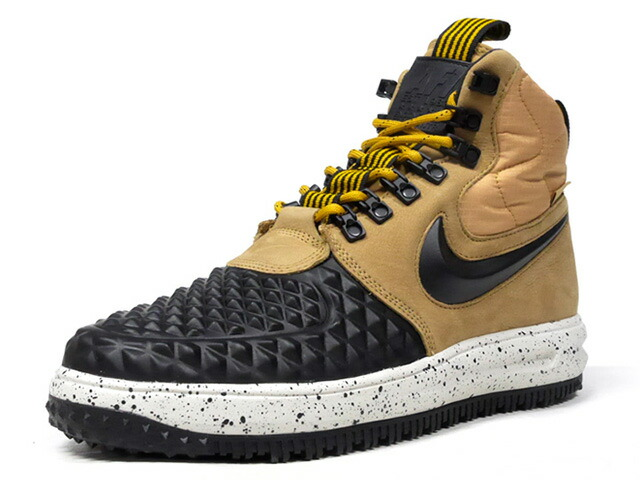 "NIKE LF 1 DUCKBOOT '17 ""LIMITED EDITION for ICONS""  BLK/WHEAT/BGE/NAT (916682-701)"