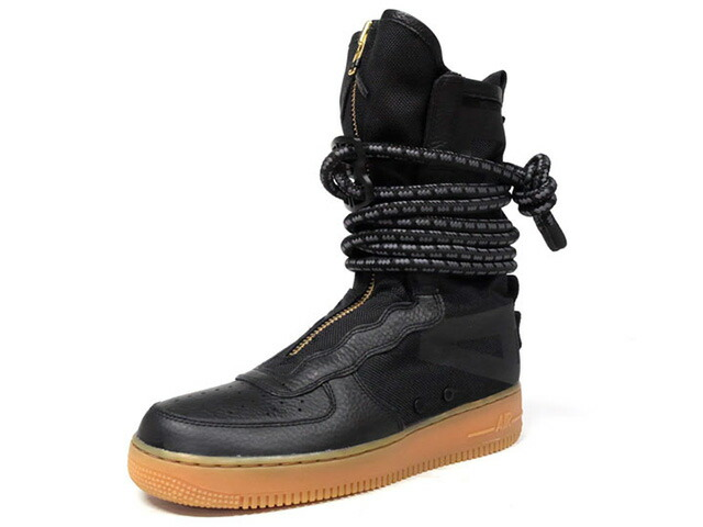 "NIKE SF AF 1 HI ""LIMITED EDITION for ICONS""  BLK/GUM (AA1128-001)"