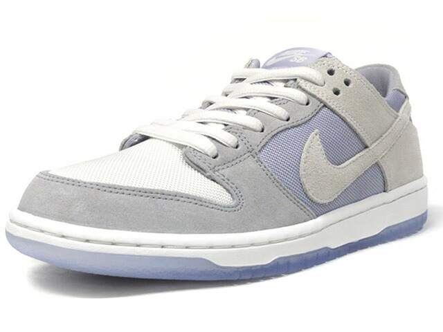 "NIKE ZOOM DUNK LOW PRO ""LIMITED EDITION for NIKE SB""  GRY/L.GRY/WHT/CLEAR (854866-011)"