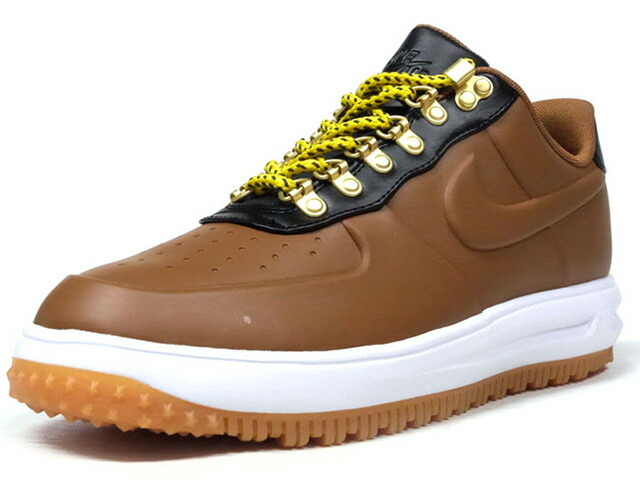 "NIKE LF 1 DUCKBOOT LOW ""LIMITED EDITION for ICONS""  BRN/BLK/WHT/GUM (AA1125-200)"