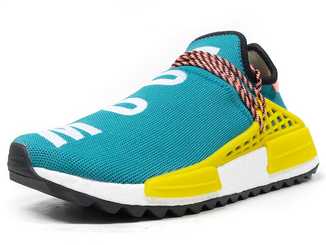 "adidas PW HUMAN RACE NMD TR ""PHARRELL WILLIAMS"" ""HU HIKING COLLECTION""  E.GRN/WHT/YEL/BLK/S.PNK (AC7188)"