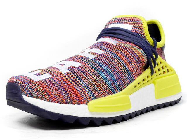 "adidas PW HUMAN RACE NMD TR ""PHARRELL WILLIAMS"" ""HU HIKING COLLECTION""  MULTI/WHT/YEL/NVY (AC7360)"