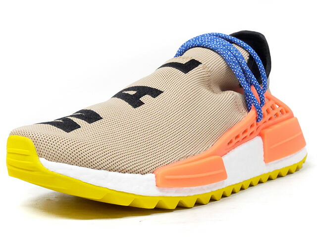 "adidas PW HUMAN RACE NMD TR ""PHARRELL WILLIAMS"" ""HU HIKING COLLECTION""  BGE/BLK/ORG/YEL/BLU (AC7361)"