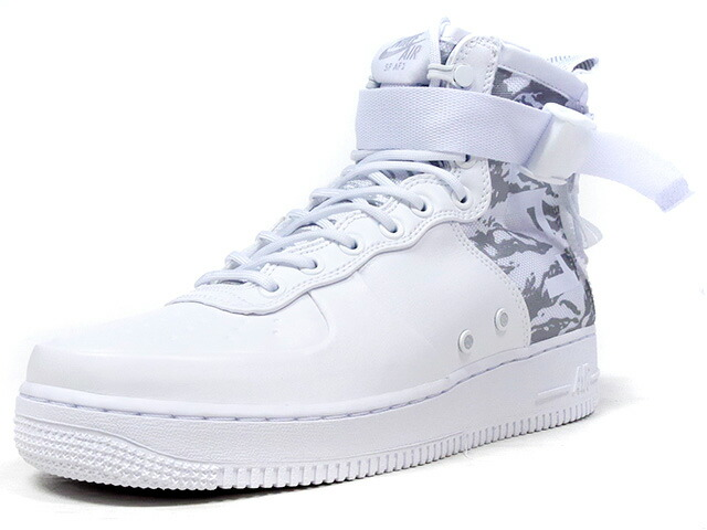 "NIKE SF AF1 MID PRM ""LIMITED EDITION for NONFUTURE""  WHT/WHT/SLV (AA1129-100)"