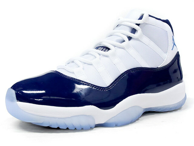 "NIKE AIR JORDAN 11 RETRO ""WIN LIKE '82"" ""MICHAEL JORDAN"" ""LIMITED EDITION for JORDAN BRAND""  WHT/NVY/SAX (378037-123)"
