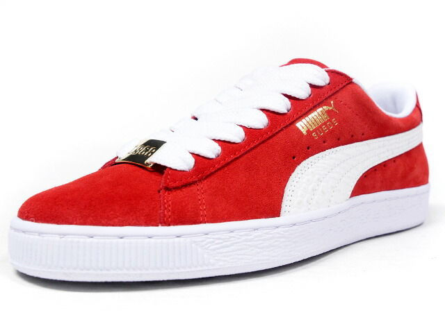 "Puma SUEDE CLASSIC BBOY FABULOUS ""SUEDE 50th ANNIVERSARY"" ""KA LIMITED EDITION""  RED/WHT (365362-02)"