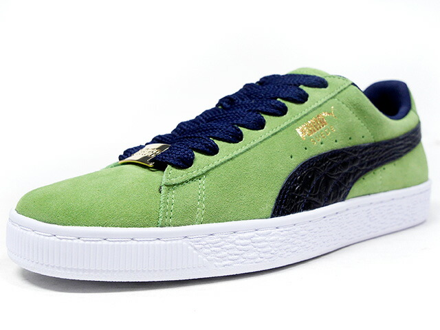 "Puma SUEDE CLASSIC BBOY FABULOUS ""SUEDE 50th ANNIVERSARY"" ""KA LIMITED EDITION""  GRN/NVY (365362-03)"