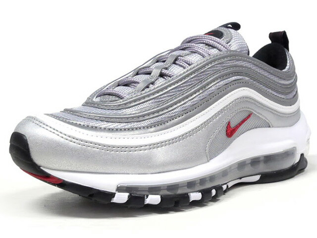 "NIKE (WMNS) AIR MAX 97 OG QS ""SILVER BULLET"" ""LIMITED EDITION for NONFUTURE""  SLV/RED (885691-001)"