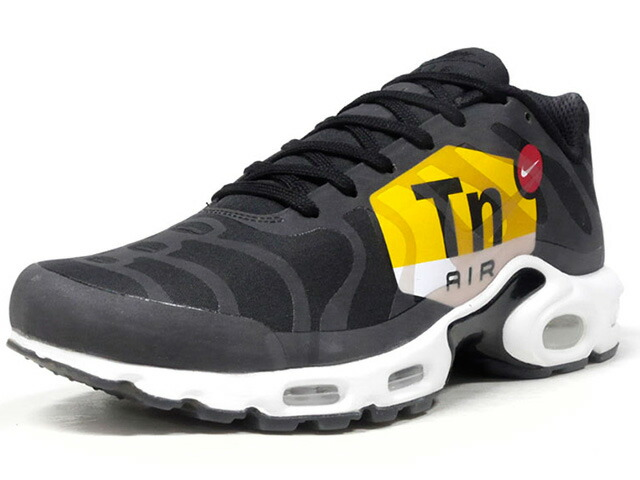 "NIKE AIR MAX PLUS NS GPX ""BIG LOGO"" ""LIMITED EDITION for NONFUTURE""  BLK/WHT/YEL/RED (AJ0877-001)"