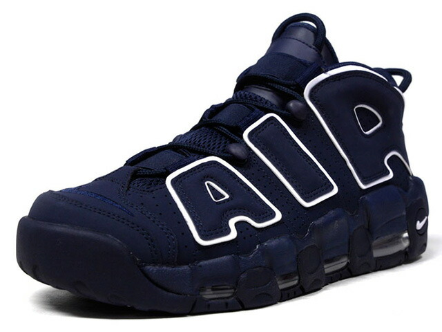 """NIKE AIR MORE UPTEMPO '96 """"OBSIDIAN"""" """"LIMITED EDITION for NSW BEST""""  NVY/WHT (921948-400)"""