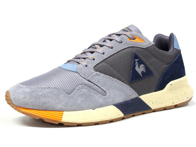 "le coq sportif OMEGA X TOUT SCHUSS ""TOUT SCHUSS COLLECTION"" ""LIMITED EDITION for SELECT""  GRY/C.GRY/NVY/L.BLU/YEL/NAT (1722015)"