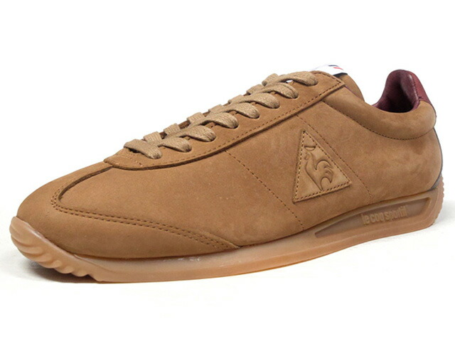 "le coq sportif QUARTZ LEA MAROQUINERIE ""made in FRANCE"" ""MAROQUINERIE PACK"" ""LIMITED EDITION for Le CLUB""  BRN/BGD/C.GRY/GUM (1720309)"