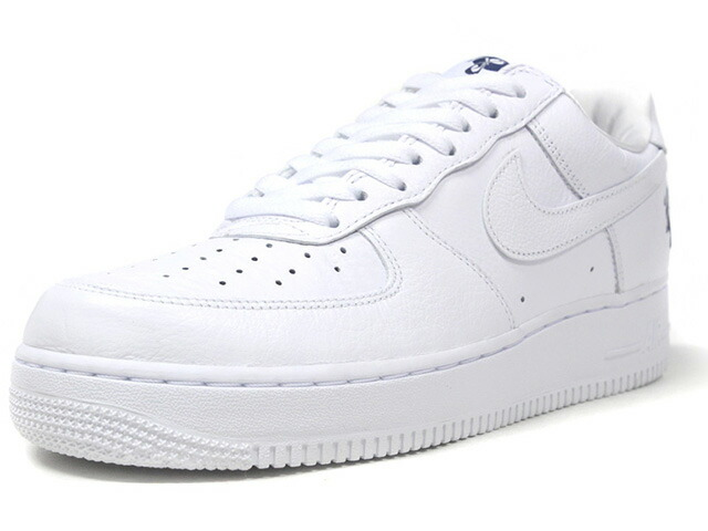 """NIKE AIR FORCE 1 07 ROCAFELLA """"ROC-A-FELLA RECORDS"""" """"AF-100"""" """"LIMITED EDITION for NONFUTURE""""  WHT/WHT/NVY (AO1070-101)"""