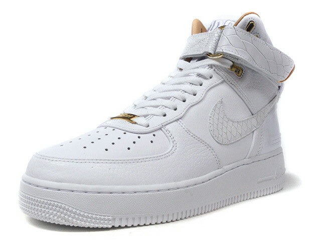 "NIKE AIR FORCE 1 HI JUST DON ""JUST DON / DON C"" ""AF-100"" ""LIMITED EDITION for NONFUTURE""  WHT/BGE/GLD (AO1074-100)"