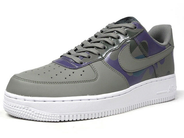 """NIKE AIR FORCE 1 07 LV8 """"CAMO PACK"""" """"LIMITED EDITION for ICONS""""  OLV/GRN/PPL/CAMO/WHT (823511-008)"""