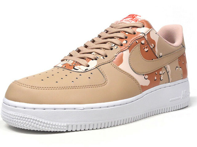 """NIKE AIR FORCE 1 07 LV8 """"CAMO PACK"""" """"LIMITED EDITION for ICONS""""  BGE/L.BGE/BRN/CAMO/WHT (823511-202)"""