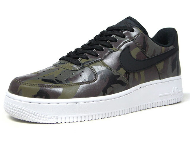 """NIKE AIR FORCE 1 07 LV8 """"CAMO PACK"""" """"LIMITED EDITION for ICONS""""  OLV/BRN/BLK/CAMO/WHT (823511-201)"""