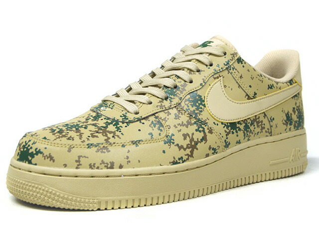 """NIKE AIR FORCE 1 07 LV8 """"CAMO PACK"""" """"LIMITED EDITION for ICONS""""  S.BGE/GRN/BRN/CAMO (823511-700)"""