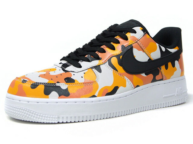 "NIKE AIR FORCE 1 07 LV8 ""CAMO PACK"" ""LIMITED EDITION for ICONS""  ORG/BLK/CAMO/WHT (823511-800)"