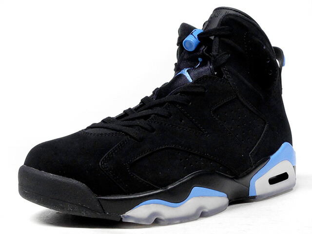 "NIKE AIR JORDAN 6 RETRO ""UNIVERSITY BLUE"" ""MICHAEL JORDAN"" ""LIMITED EDITION for JORDAN BRAND""  BLK/SAX/WHT (384664-006)"