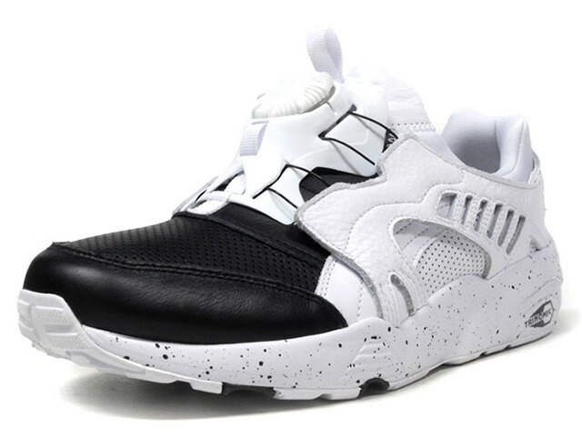 "Puma DISC BLAZE FROSTED ""LIMITED EDITION for LIFESTYLE""  WHT/BLK (364410-02)"