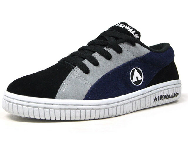 "AIRWALK ONE OG ""CRUNCH"" ""JAPAN EXCLUSIVE""  BLK/GRY/NVY/WHT (AW-CL-6002)"