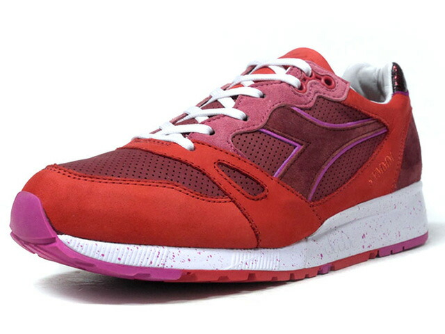 "diadora S8000 NERONE ""The Rise and Fall of The Roman Empire Pack"" ""THE GOOD WILL OUT""  BGD/RED/PNK/WHT (171219-55110)"