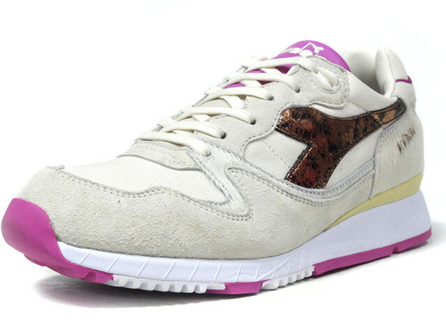 "diadora V7000 CALIGULA ""The Rise and Fall of The Roman Empire Pack"" ""THE GOOD WILL OUT""  O.WHT/BRN/PNK (171220-20012)"