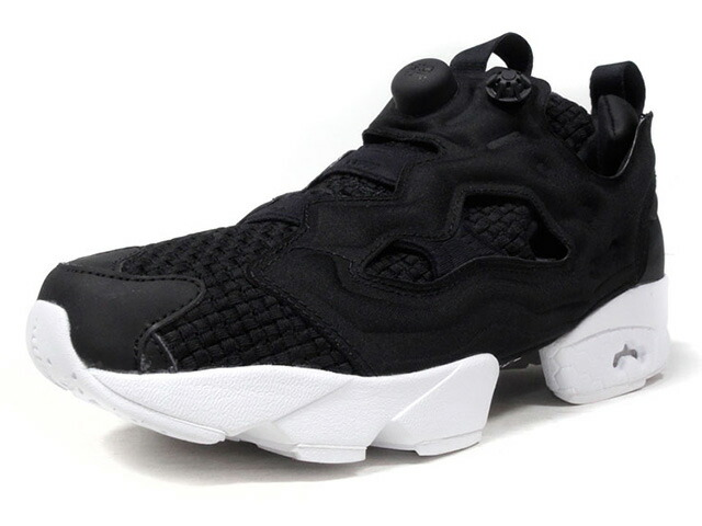 "Reebok (WMNS) INSTAPUMP FURY WOVEN ""LIMITED EDITION""  BLK/WHT (CM9791)"