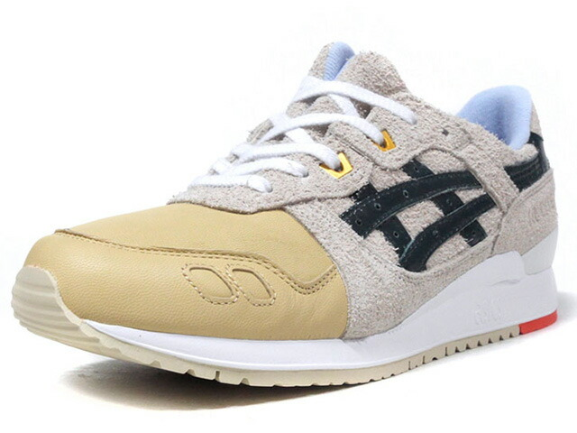 "ASICSTIGER GEL-LYTE III ""CHRISTMAS PACK"" ""LIMITED EDITION""  O.WHT/BGE/GRN/SAX/ORG (HL7S1-0285)"
