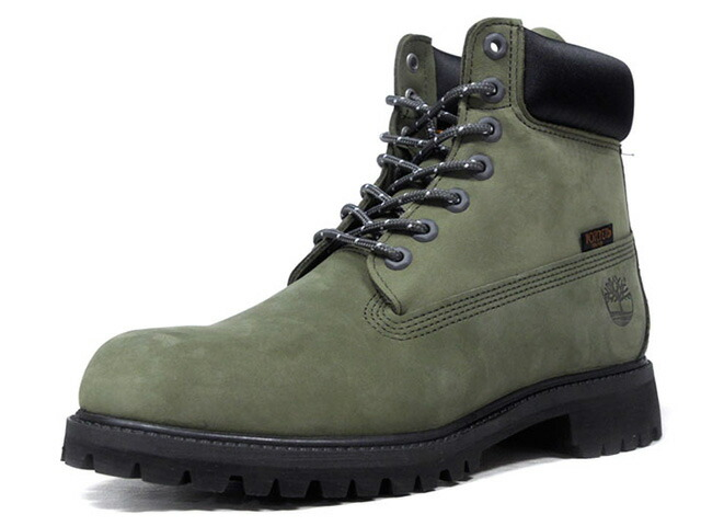 "Timberland 6INCH PREMIUM WATERPROOF BOOTS ""PORTER""  OLV/BLK (TB0A1PCA)"