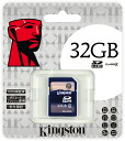"Kingston 32GB Class4 SDHC card (KF-C0832-3A) ""shipment"" 0740617201437fs3gm"