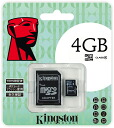 "Kingston 4GB Class4 microSDHC card (KF-C114G-3A) ""shipment"" 0740617201468fs3gm"