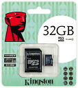 "Kingston 32GB Class4 microSDHC card (KF-C1132-3A) ""shipment"" 0740617201499fs3gm"