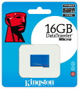 "Kingston DataTraveler Micro 16GB USB memory (KF-U5216-3A) ""shipment"" 0740617201512fs3gm"