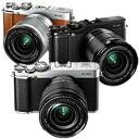 "Fujifilm X-M1 Lens Kit (small premium SLR zoom lens the X-M1/XC16-50mmF3.5-5.6 OIS Kit) ""black silver delivery time 1 week or so, Brown 9/2013 12, sale will book' compact & lightweight bot! Fuji Film プレミアムミラーレス SLR"