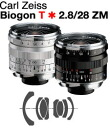 Carl Zeiss Biogon T*F2.8/28mm ZM-Mount Lens