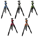 "King FOTOPRO color Aluminum Tripod C-5i ""immediate delivery ~ 3 business days after shipping, mid-size tripod fs3gm can be used as a monopod"